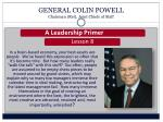 general colin powell chairman ret joint chiefs of staff1