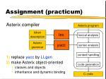 assignment practicum