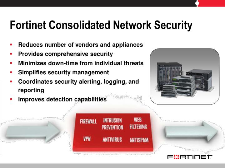 Fortinet Consolidated Network Security