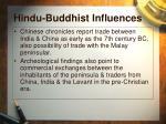 hindu buddhist influences