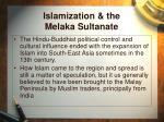 islamization the melaka sultanate