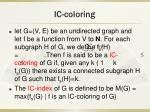 ic coloring