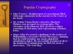 popular cryptography