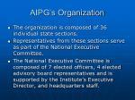 aipg s organization