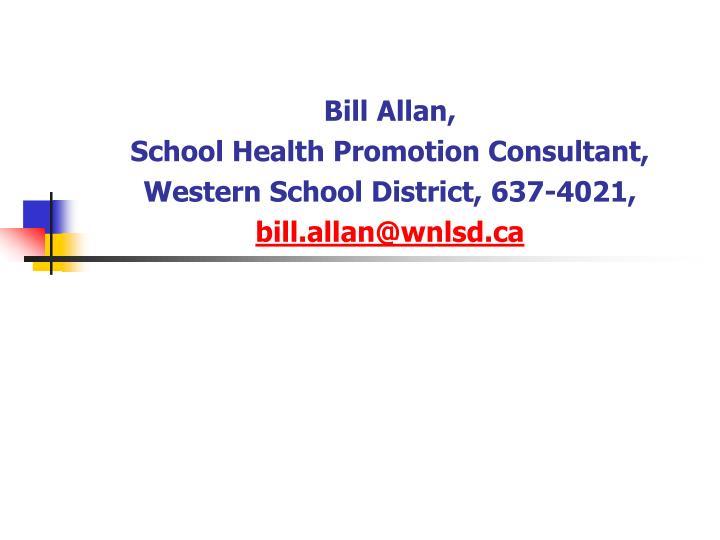 Bill Allan,