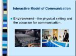 interactive model of communication3