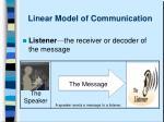 linear model of communication4