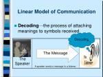 linear model of communication5