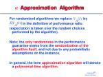 approximation algorithm1