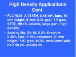high density applications cont1