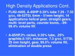 high density applications cont2