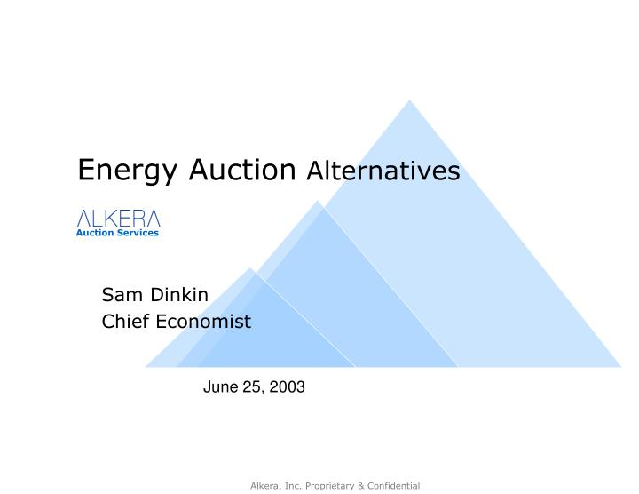 sam dinkin chief economist n.