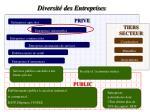 diversit des entreprises
