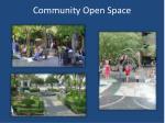 community open space