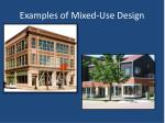 examples of mixed use design