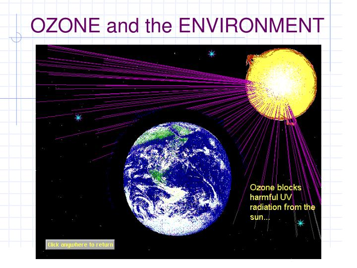 ozone and the environment n.