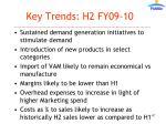 key trends h2 fy09 101