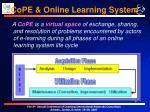 cope online learning system