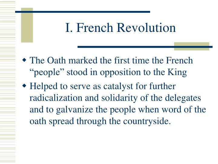 radicalization french revolution