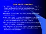 ieee 802 11 evaluation
