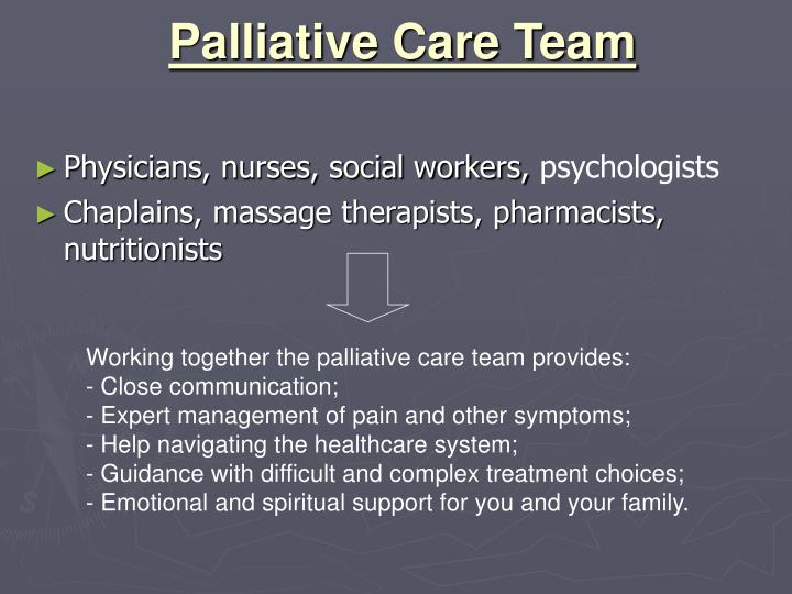 Palliative Care Team