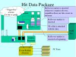 hit data package
