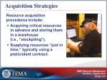 acquisition strategies