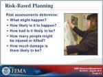 risk based planning