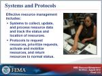 systems and protocols