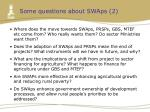 some questions about swaps 2