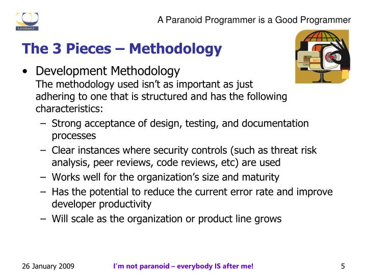 The 3 Pieces – Methodology