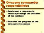 on scene commander responsibilities3