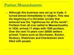 puritan massachusetts7