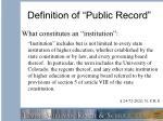 definition of public record4
