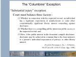 the columbine exception1