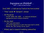 digression on opendap dap data access protocol