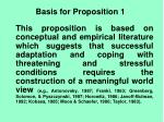 basis for proposition 1