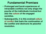 fundamental premises