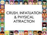 crush infatuation physical attraction
