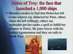 helen of troy the face that launched a 1 000 ships