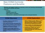 new ccna curricula features and benefits