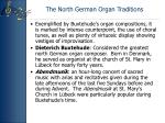 the north german organ traditions