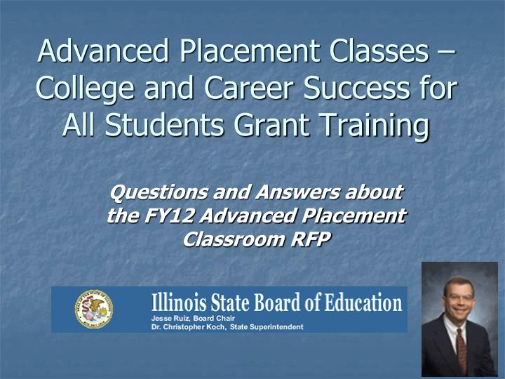 advanced placement classes college and career success for all students grant training n.
