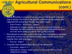 agricultural communications cont1