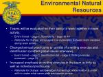 environmental natural resources