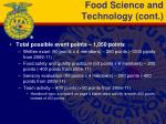 food science and technology cont1