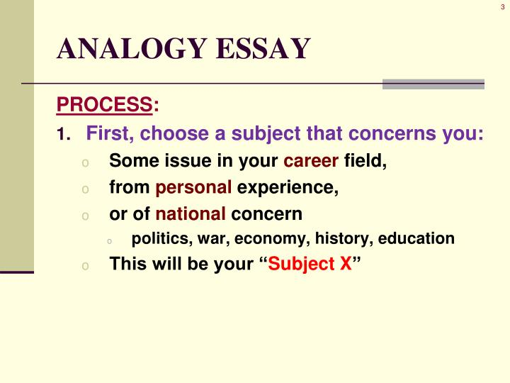 Analogy essay1