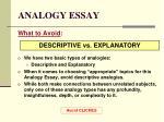 analogy essay14