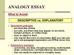 analogy essay15