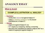 analogy essay20